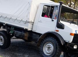 1 Std. Truck (Unimog U1300L) offroad selber fahren in Sinsheim