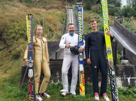 Skispringen-Tageskurs in Lauscha, Raum Erfurt in Thüringen