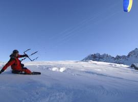 """Snowkiten \""""2 Tageskurs\"""" in Lofer, Österreich"""