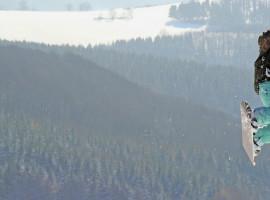 "Snowkiten \""Tageskurs\"" in Wallgau, Bayern"
