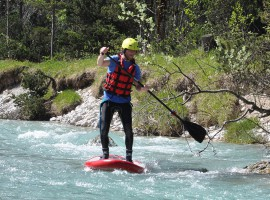 Stand Up Paddling in Lenggries, Raum München