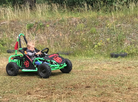10 Min. E-Buggy fahren für Kids in Stiege