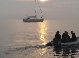 Sunset Sailing auf dem Strelasund ab Stralsund