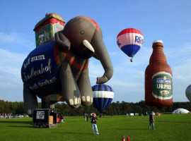 Romantische Ballonfahrt für Zwei in Rhede