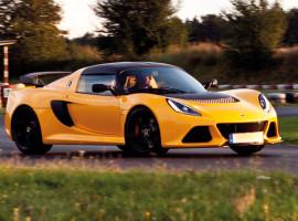 15 Runden Lotus Exige Renntaxi auf dem Templiner Ring