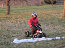 1,5 Std. Kinder Quad Tour in Gusterath