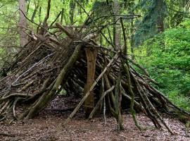 Überleben in der Wildnis Bergkirchen
