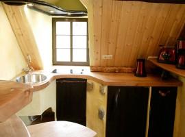 Übernachtung in der Holzfällerwohnung in Holzhau, Raum Dresden