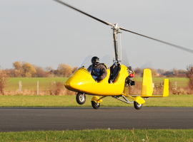 60 Min. Tragschrauber selber fliegen in Bayreuth
