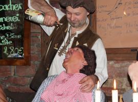Ritteressen mit Übernachtung für Zwei in Werbach