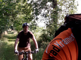 Mountain Bike Nachttour in Wilsdruff