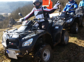 Winter Quad Tour Neumarkt