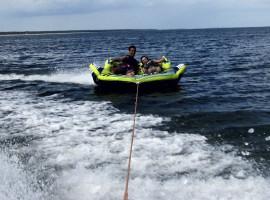 10 Min. Speed Reifen fahren auf der Ostsee in Zinnowitz
