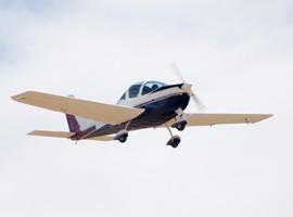 Höhenflug im Ultraleichtflugzeug
