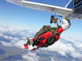 Fallschirm-Tandemsprung mit Video