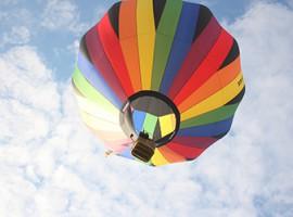 Romantische Ballonfahrt für Zwei