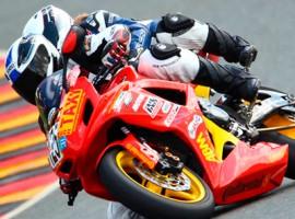 Motorrad-Renntaxi